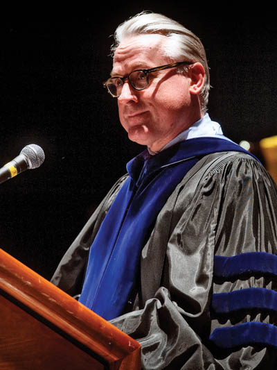Bateman delivers convocation address